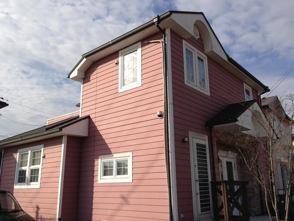 外壁屋根塗装工事事例