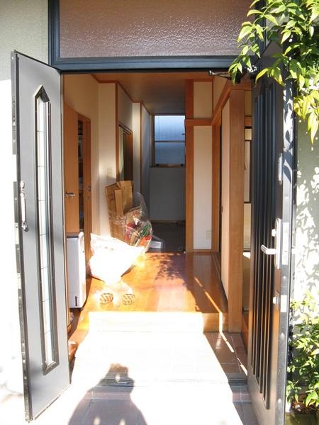 バリアフリーの玄関