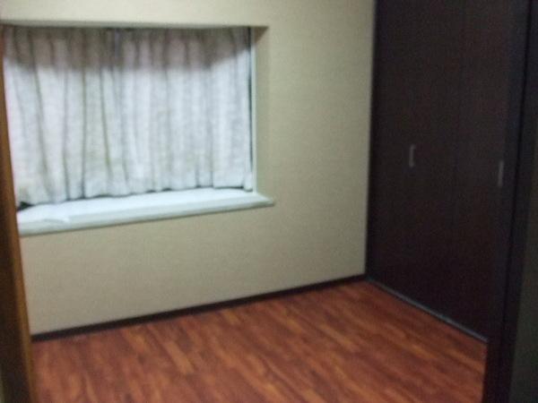 和室から洋室へ