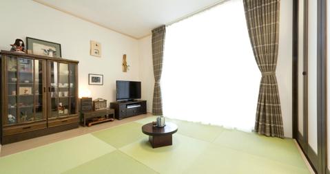 日本の和を再現したお部屋