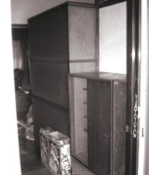 収納の増えた玄関