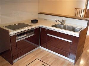 IHで安心安全なキッチン