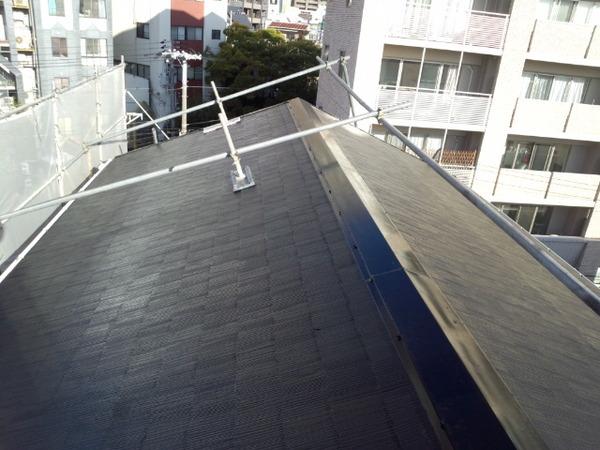 老朽化した屋根を新しく
