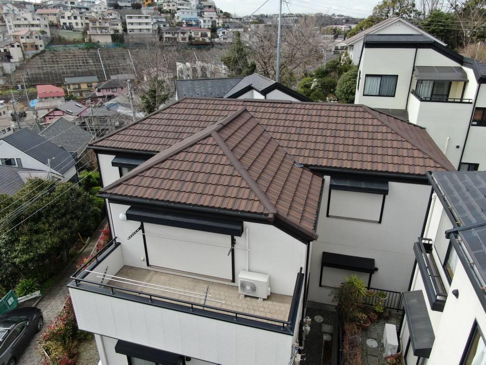 高耐久オシャレなデザインの屋根