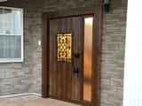 火災保険を使っておしゃれな玄関ドアを交換★