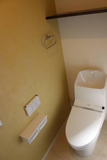 広々としたトイレ空間