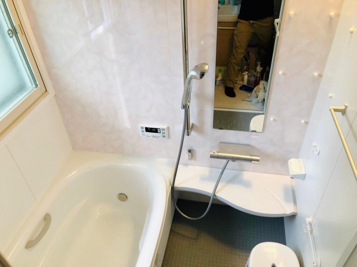 在来浴室⇒ユニットバスリフォーム