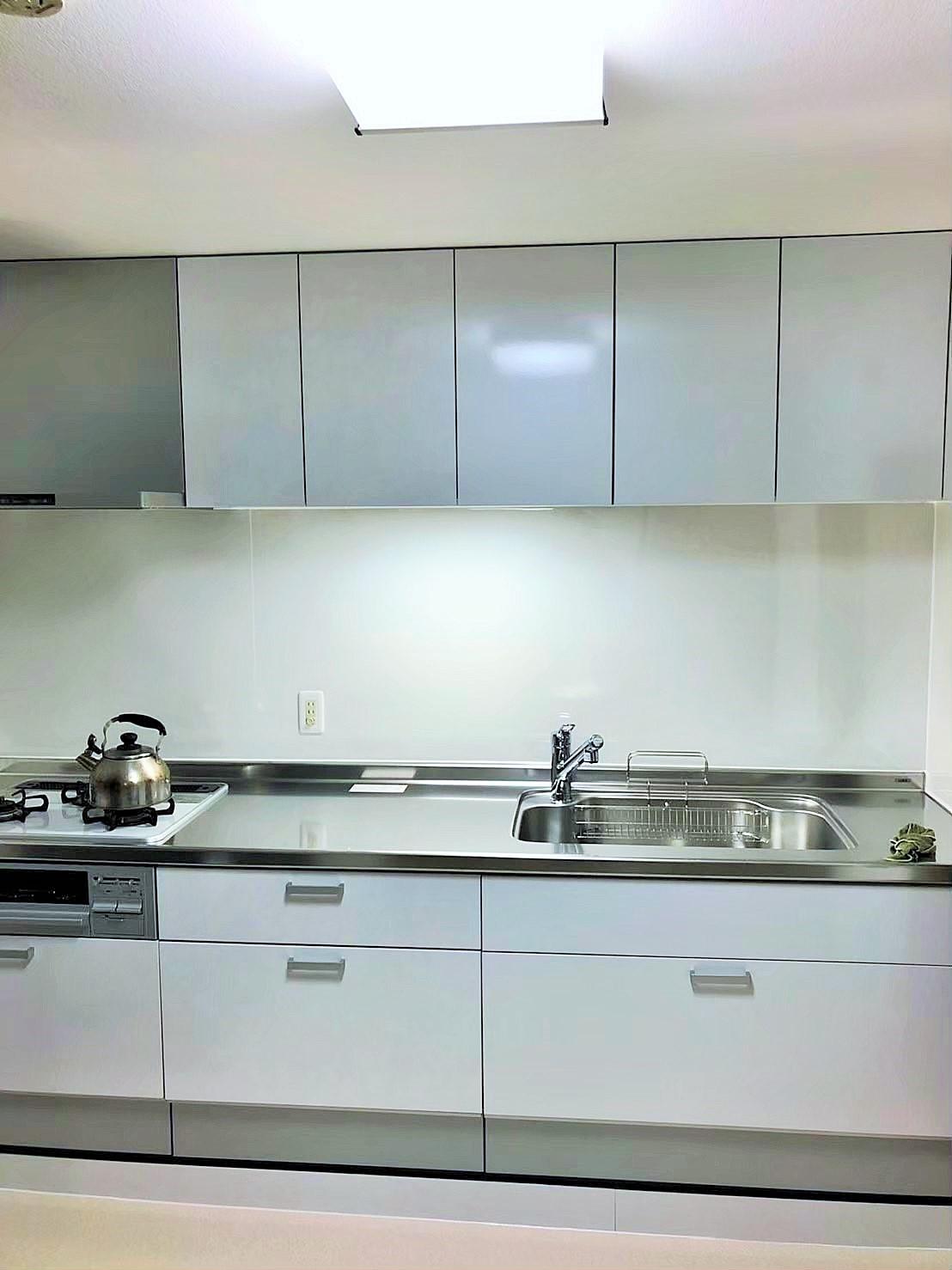 L型⇒I型キッチンリフォーム