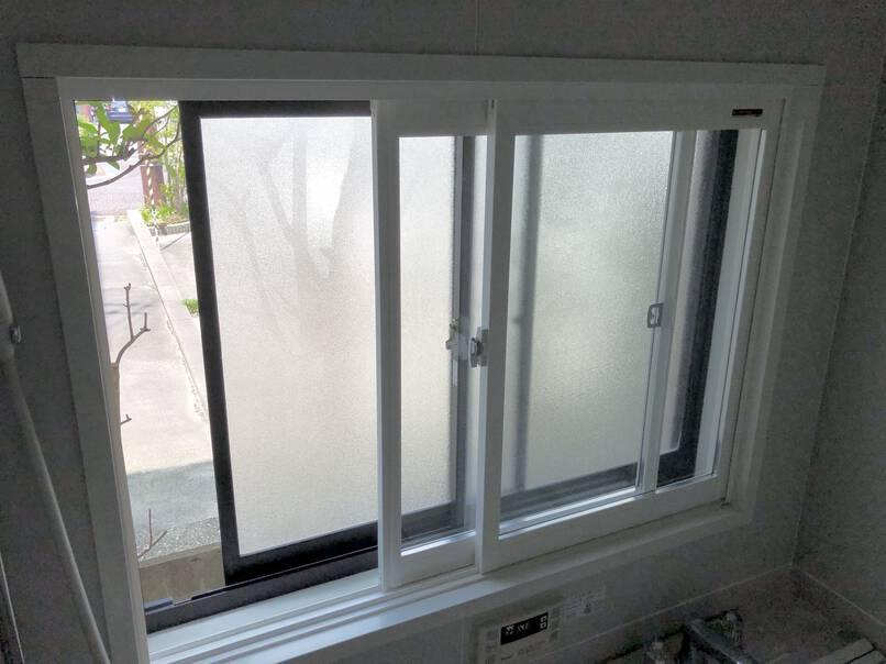 二重窓設置工事