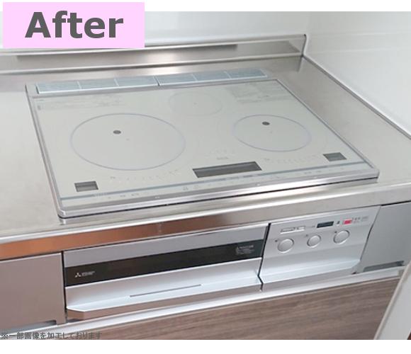 最新のキッチンは抜群の収納量で大満足です!