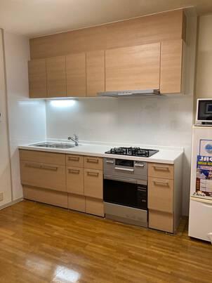 コンベック仕様のキッチン