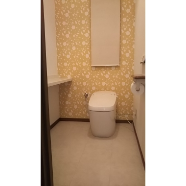 タンクレストイレにすっきりチェンジ!