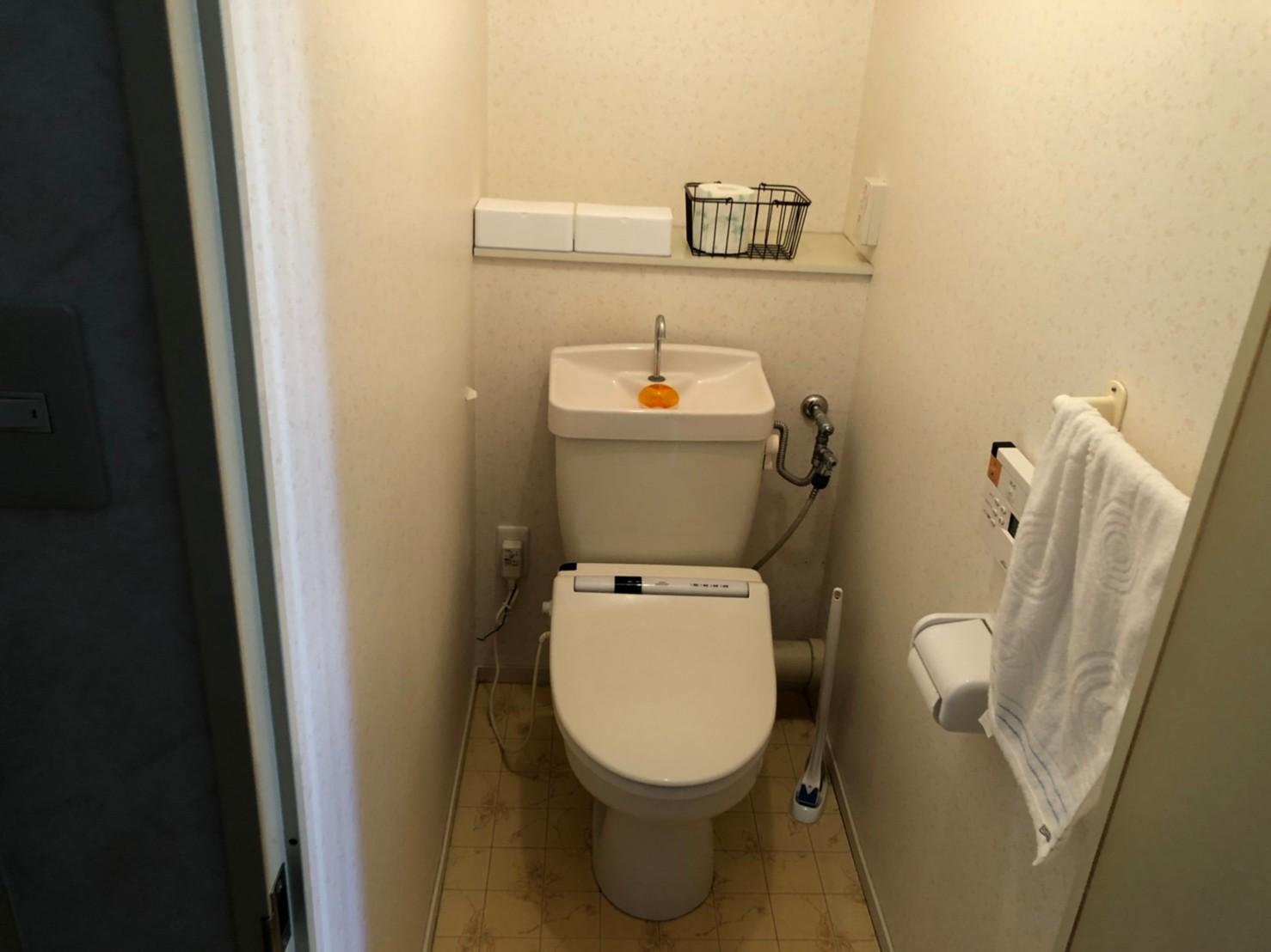 費用をかけることなく、ちょっと長く居たくなるトイレ