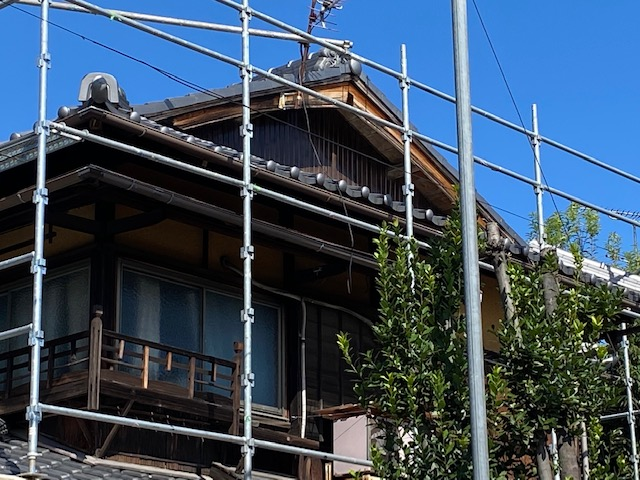 京都市北区 外壁改修工事