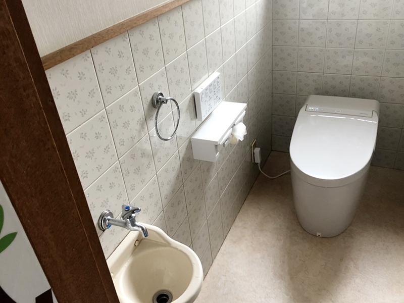 おそうじらくらくトイレ