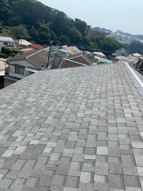 屋根葺き替え工事(リッジウェイ)