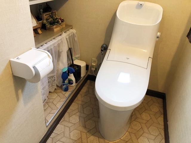 お手入れらくらくトイレ