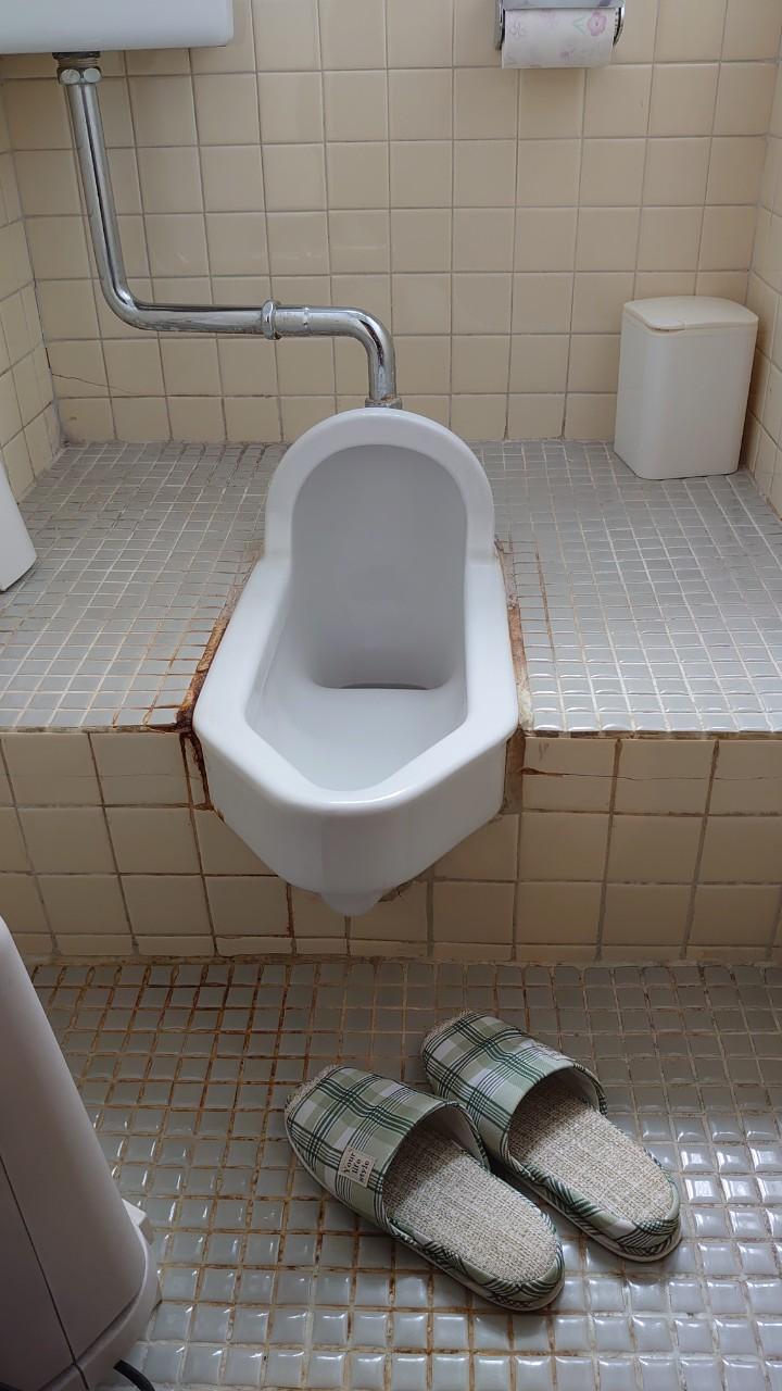 和式トイレから洋式トイレに変更!クロスも床材も新しく!