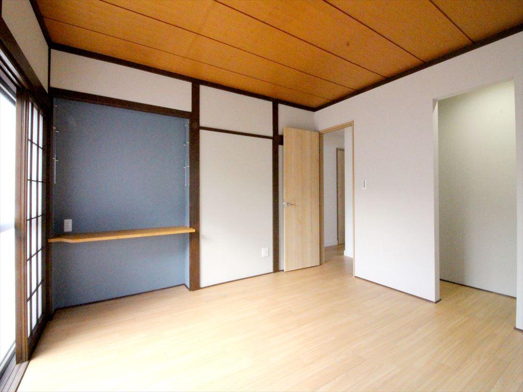 年季の入った和室を温かみのある洋室にリフォーム