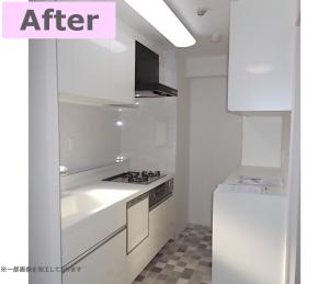 デザインと収納力にこだわった、最新のキッチンにリフォーム!