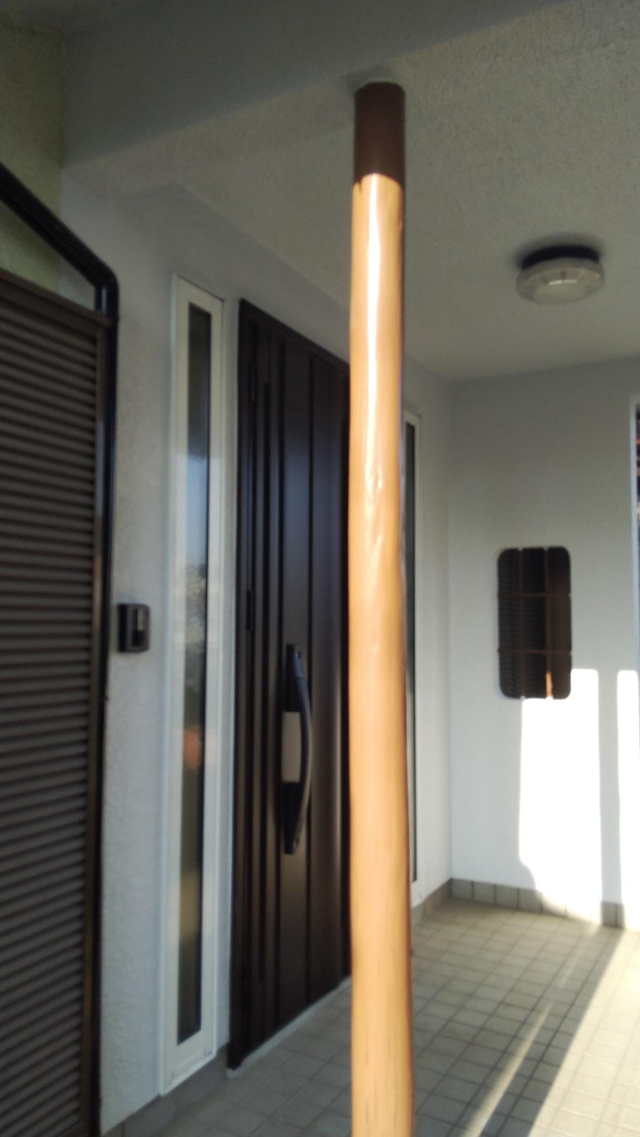 引戸から明るくスタイリッシュな玄関扉へリフォーム