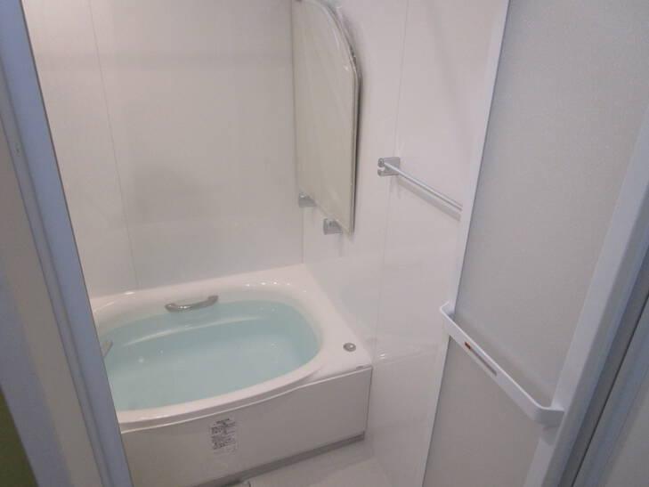古いお風呂の改修工事