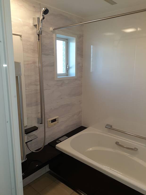 お掃除しやすい浴室