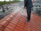 セメント瓦屋根塗装と付帯部塗装の事例