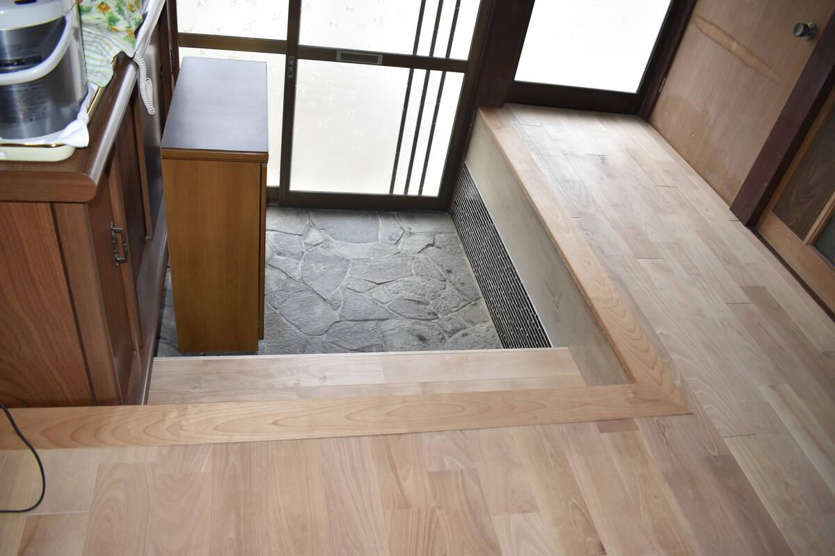 趣のある日本家屋 無垢材のリフォーム