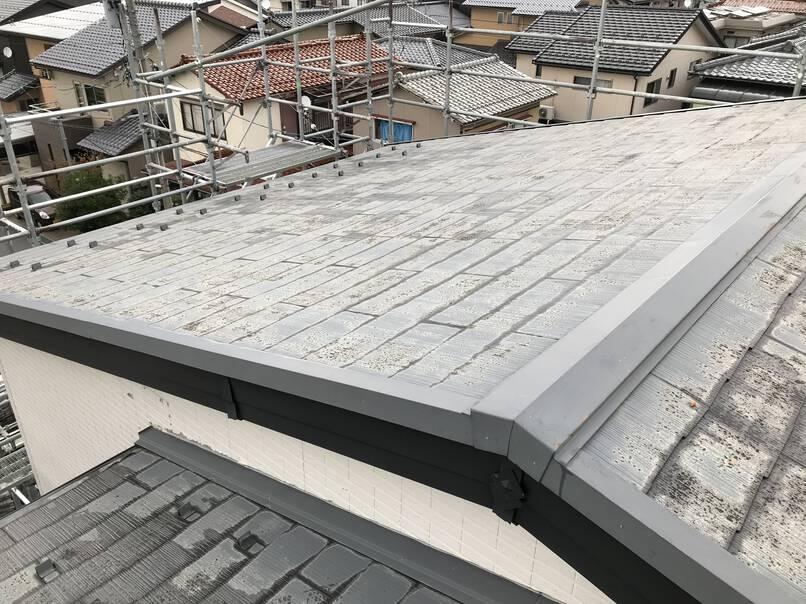 外壁金属サイディングカバー工法 屋根カバー工法
