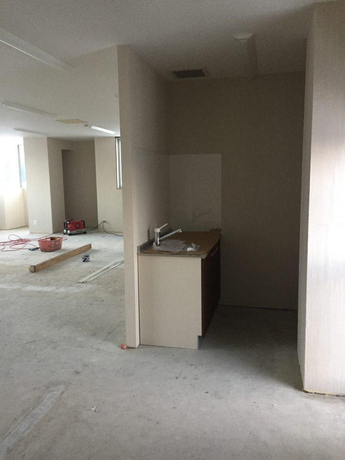 小樽市朝里 オフィスビル内装工事