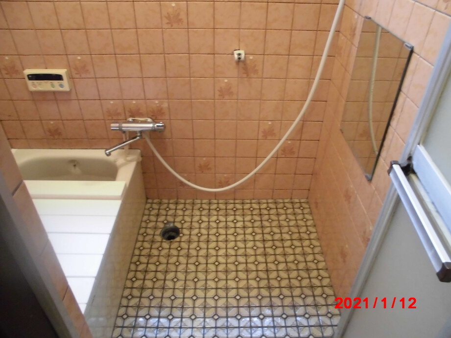 京都市伏見区 浴室改修工事