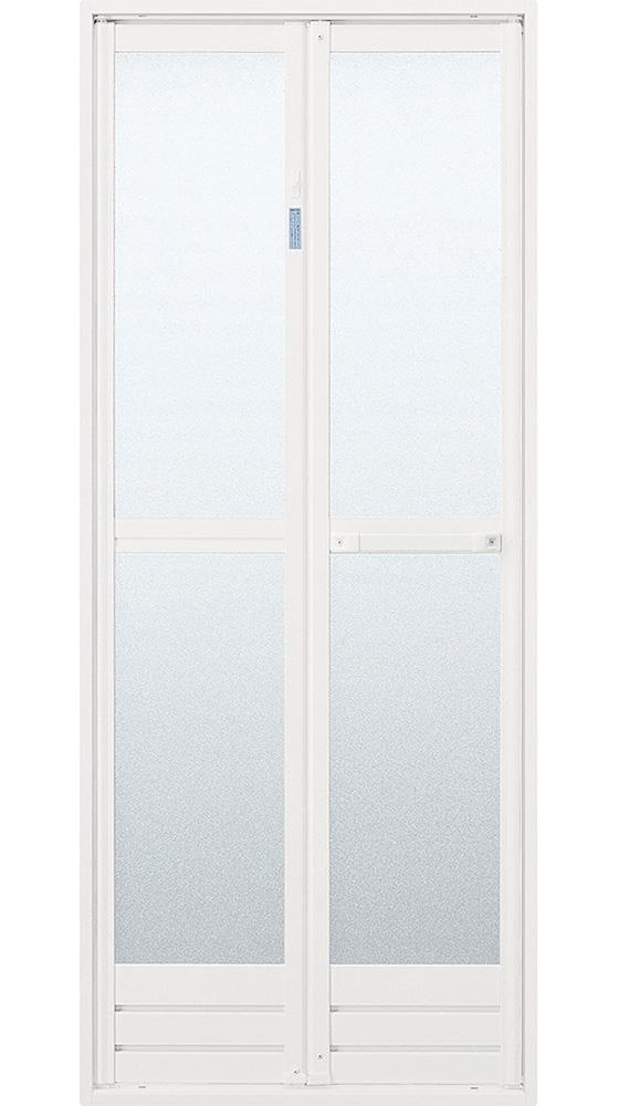 浴室ドア交換 浴室折れ戸に交換事例
