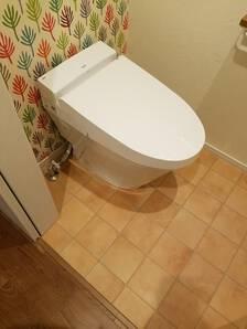 明るく使いやすいトイレにリフォーム