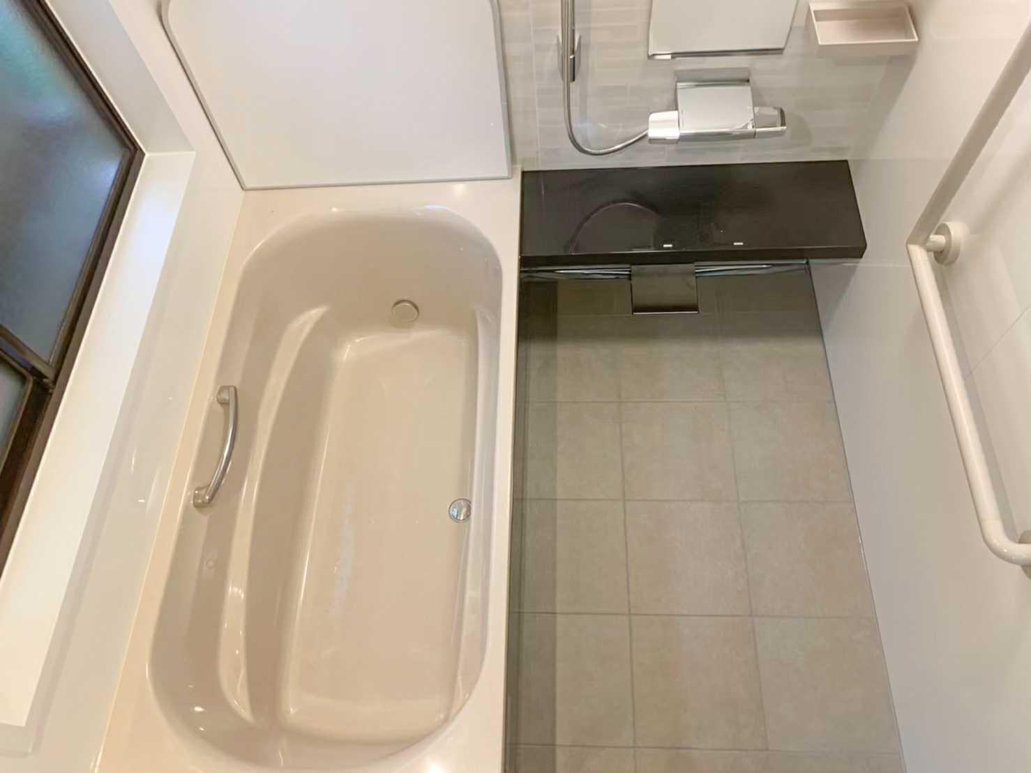 【浴室リフォーム】明るい浴室◌̥*