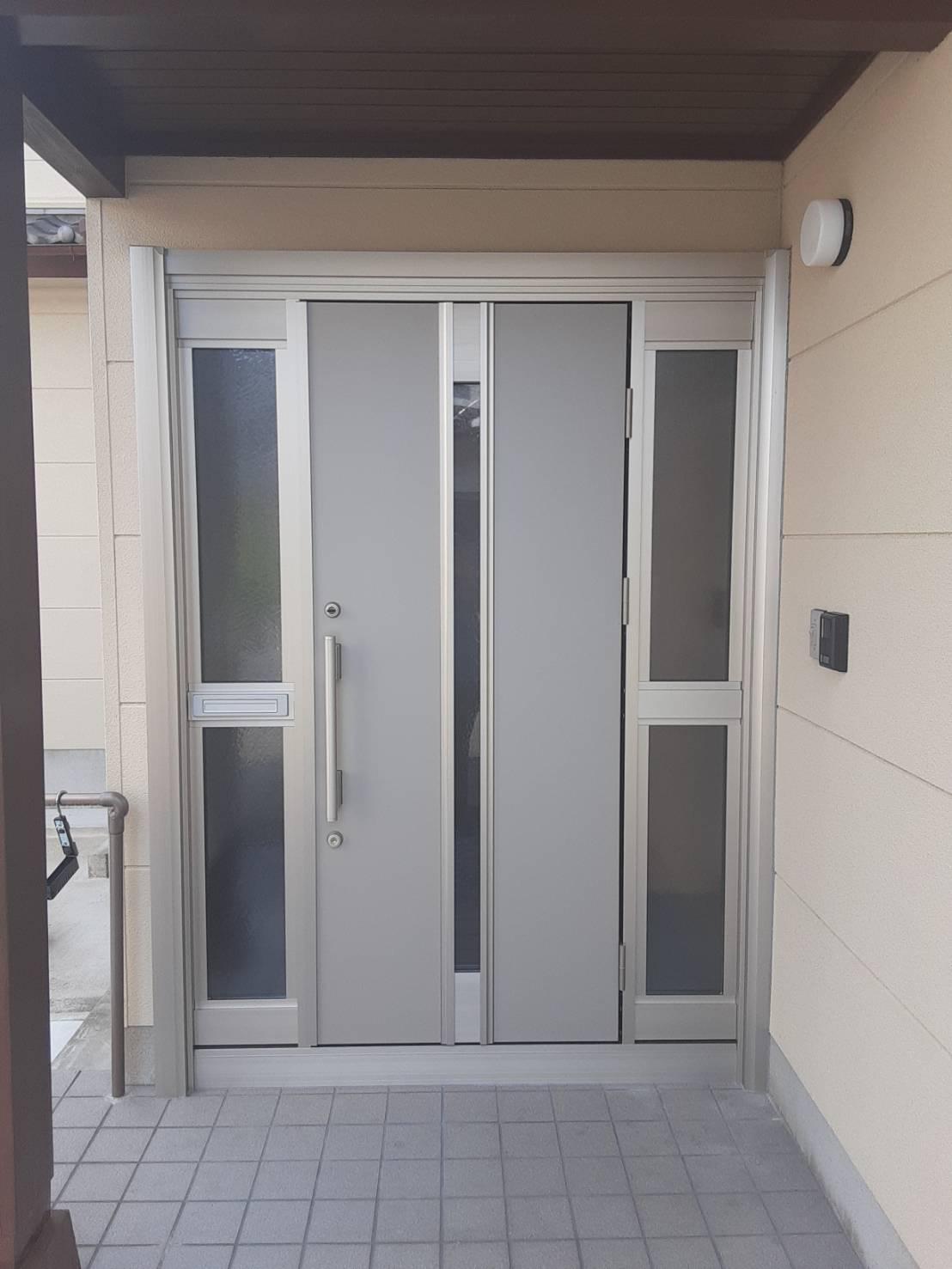 玄関をリフォームして、快適と安心を!