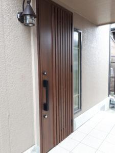 玄関のイメージを変えるリフォーム