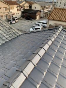 緩勾配に対応可能なマルスギ「イーグルエクサ」の屋根に張り替え