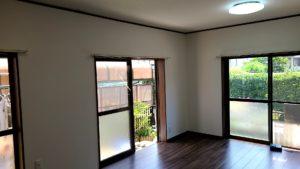 和室から洋室へ・広い空間にリフォーム