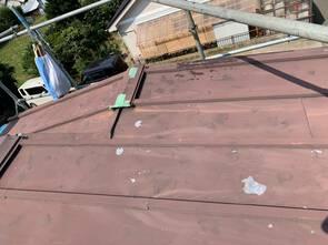 金属屋根葺き替え工事✨