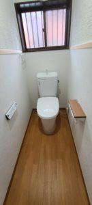 バリアフリーに配慮したトイレにリフォーム