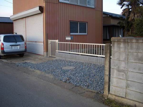 駐車スペースを新設