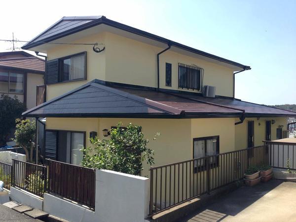 北九州市八幡西区 T様邸 外壁屋根塗装のリフォーム事例