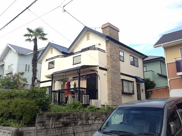 宗像市 S様邸 外壁屋根塗装工事のリフォーム事例