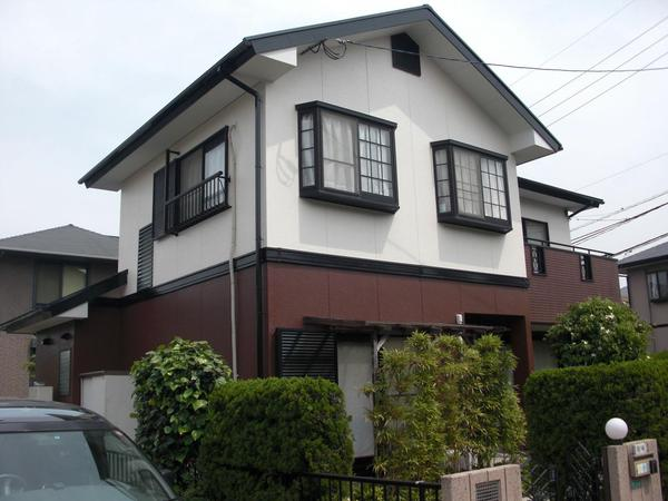 北九州市若松区 M様邸 壁屋根塗装工事のリフォーム事例
