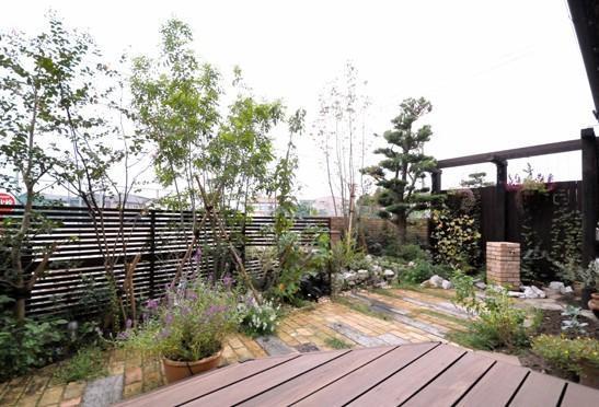 イギリス風ガーデンのリフォーム事例