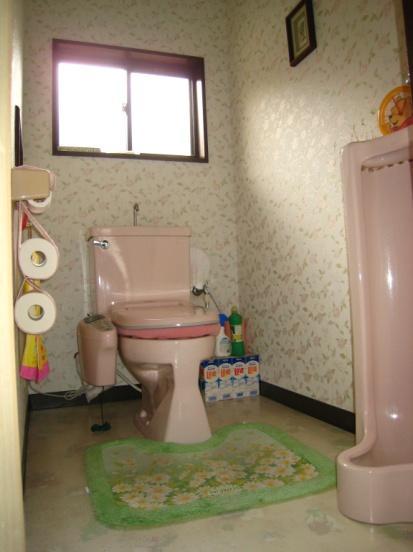 天然素材仕上げトイレ【トイレ】