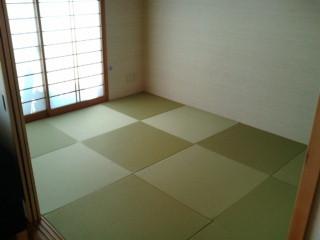 アイデア畳でモダンな和室