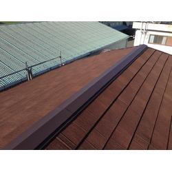 屋根の老朽化のによる葺き替え工事