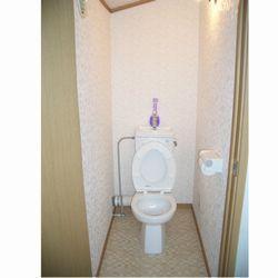 これまで倉庫だったところにトイレを新設